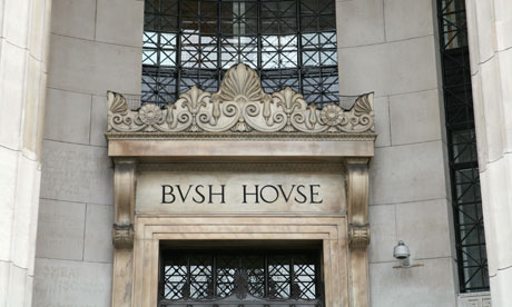 Bush House - the Home of the BBC - Sometimes known in the UK as Auntie