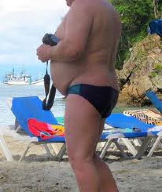 Fat Speedo Guy