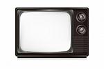 The dreaded un-flat screen television
