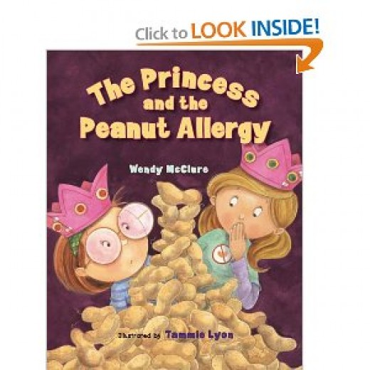 Cover from The Princess and the Peanut Allergy