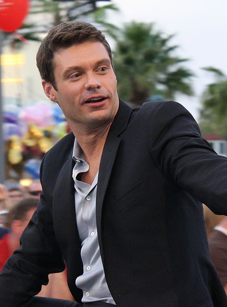 Ryan Seacrest, source Wikipedia