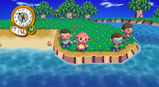 Animal Crossing: City Folk Gameplay Image