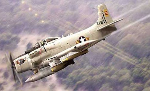 USAF Texan for ground Support