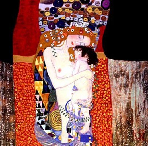 Mother and child- Klimt