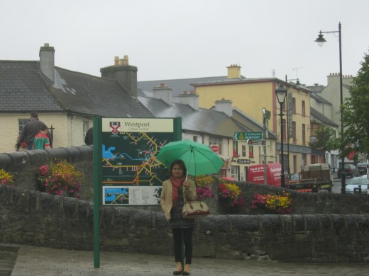 Celia in Westport, Co. Mayo