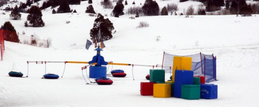 The Fort Frosty Play Area