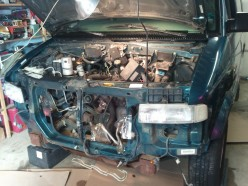 Removing the Engine from a 1997 GMC Safari