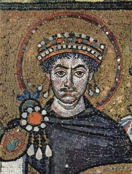 Portrait of Emperor Justinian I.