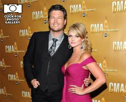 Miranda Lambert and Blake Shelton - two of Country's hottest new stars.