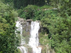 Cascading water, a mesmirizing site