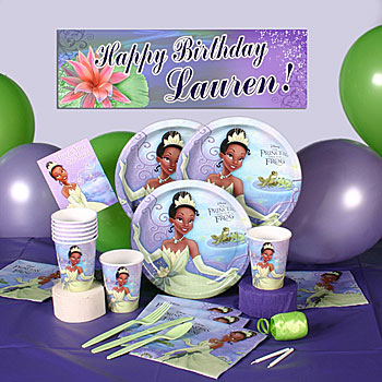 Princess and the Frog Party Kit