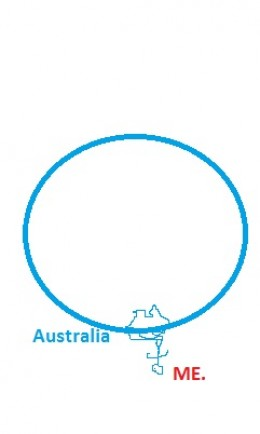 This is me in Australia, as you can see, I can do great graphics for you as well. This is a 9 chicken graphic.
