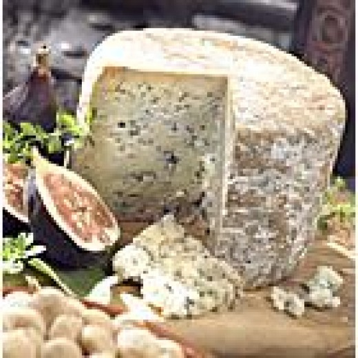 Cabrales Blue Cheese matured in the limestone caves of the Picos de Europa in Asturias
