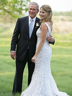 President Bush and Jenna
