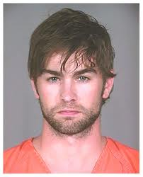 Chase Crawford in Plano City Jail for smoking a blunt.