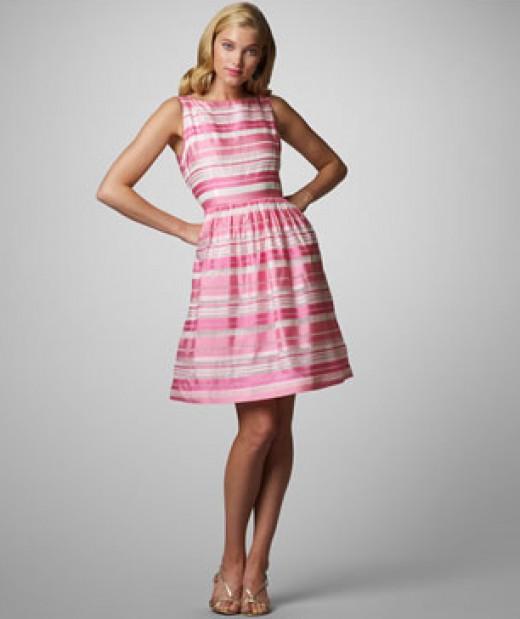 For more pink dresses, visit: