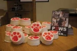 "Lush cosmetics sold the special edition ""Paws"" soap at its B.C. stores, including the Whistler Village location"