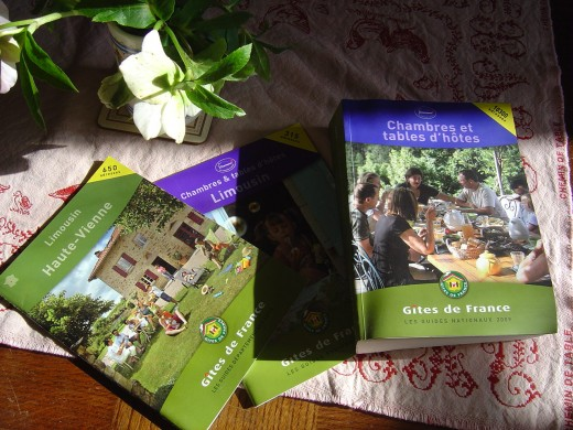 Gites de France publish national and regional guides. Logis de france
