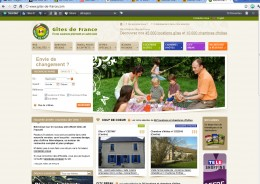 Gites de France Home Page
