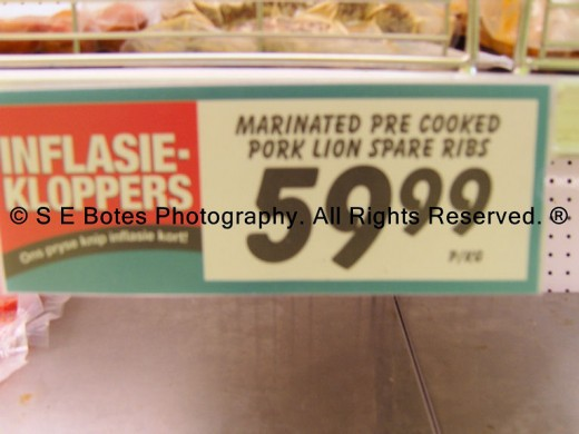 I Didn't Know Lions Were Made From Pork...