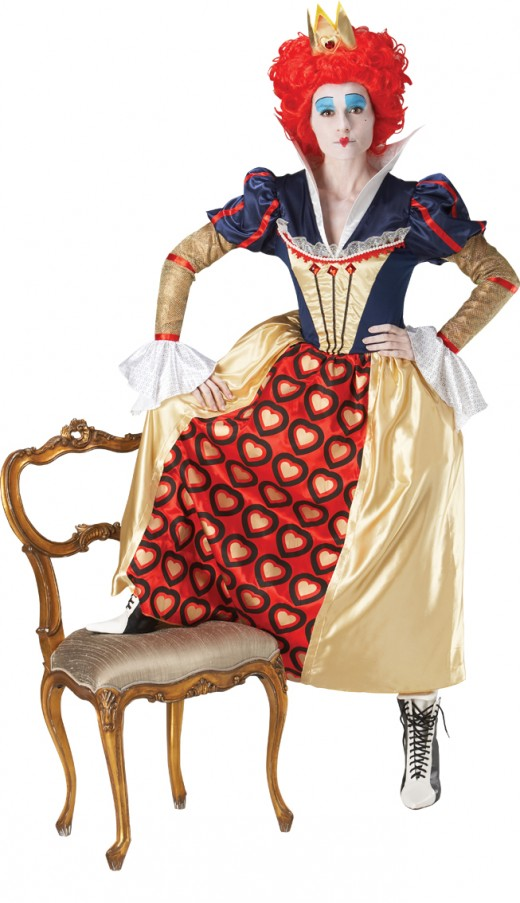 Queen of Hearts - Licensed Costume