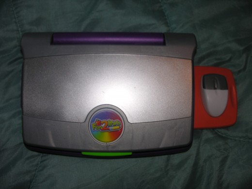 Fisher Price kids computer exterior