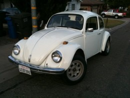 My White Knight 1969 Bug, shifts like a beast