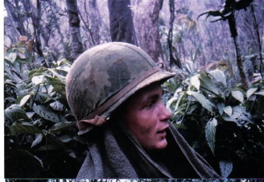 Steve in the jungles of Vietnam