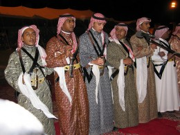 Saudi tribesmen