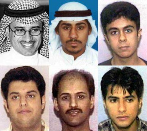 Image showing several of the 'Hijackers' that were found alive after the twin towers attack