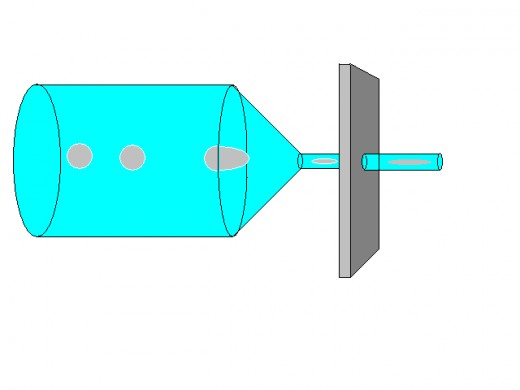 Drawn Glass Billet