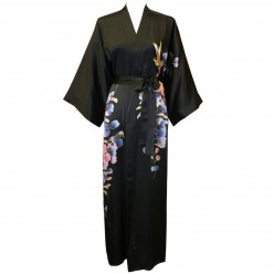 Long Silk Kimono Robe -  Buy A Hand Painted Kimono