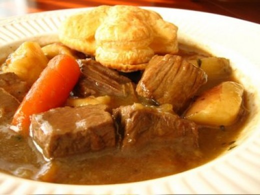 mmmm nothing better than Irish stew on a cold cold day!