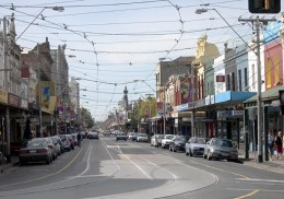 Smith Street, one of Melbourne's oldest shopping strips
