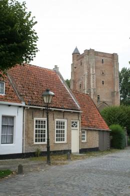 The 'Marktplein' at Sint Anna ter Muiden