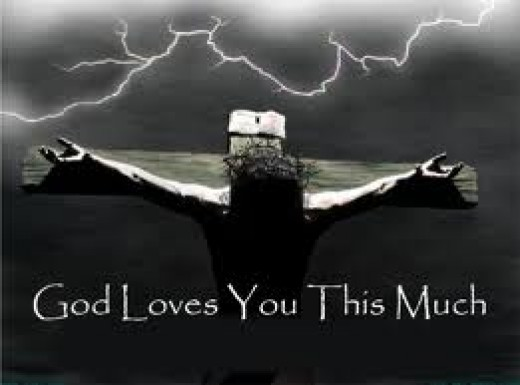 God love you this much because its our natural stat of life