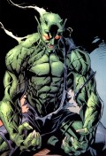 The Goblin King is at least as strong as this guy, Ultimate Green Goblin