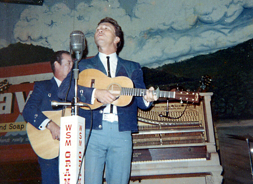 Marty Robbins Playing the 1960 Vintage Baby Martin