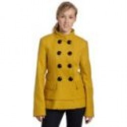 photo credit: shopping.yahoo.com Steve Madden's Juniors Tiered Coat, Mustard, Medium $69.99 at Amazon.com