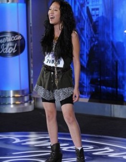 Thia Megia - American Idol 2011 - Milwaukee Auditions
