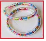 bead/seed tube bracelet