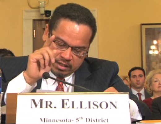 Democrat Representative Ellison