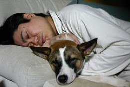 Wonderful as they are, snuggling up with your pet is not conducive to good sleep ... for either of you.