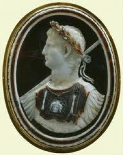 Emperor Claudius of Rome. Unlucky in love. His wives, Messalina, and Agrippina. Roman soap opera.
