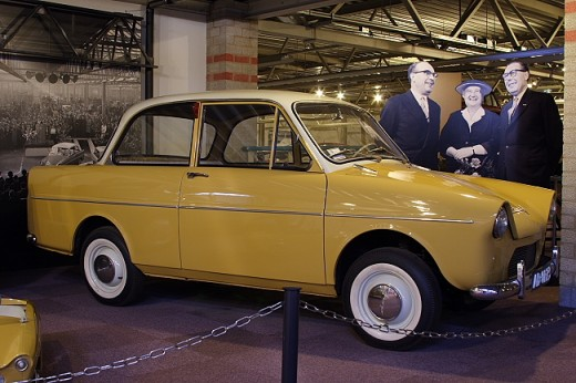 DAF 600 at the DAF museum, Eindhoven