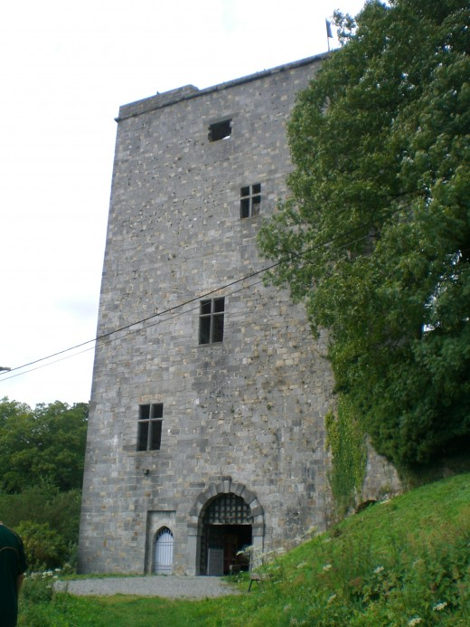 The Salamandre Tower at Beaumont