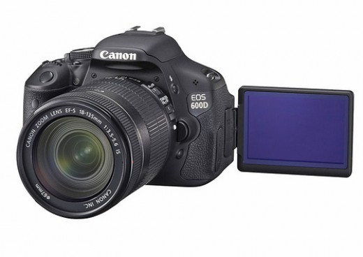 Canon Rebel T3i with Swivel LCD Screen
