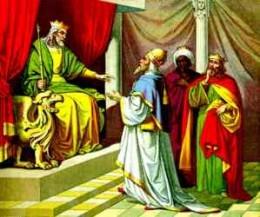 King Herod horrified at the birth of Jesus