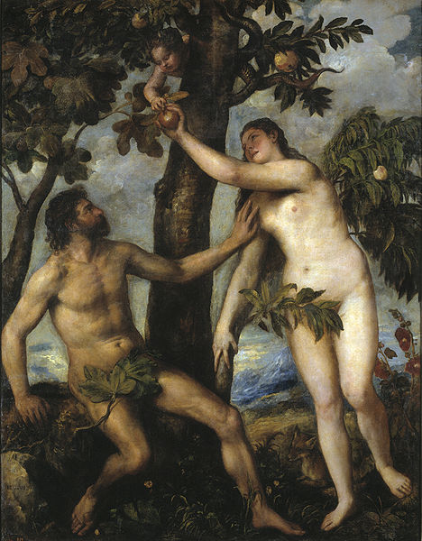 Sndenfall by Titian