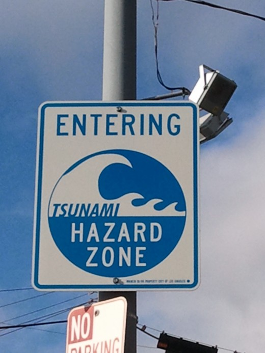 Close up of a sign in our area